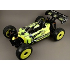 "JQ Products ""THE Car"" 1/8 Competition PRO Buggy Kit (Yellow Edition)"